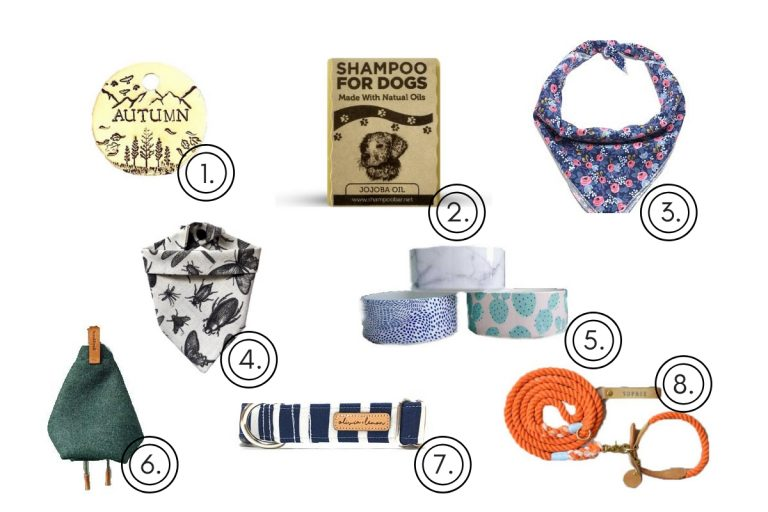 best etsy shops for dogs, pups, christmas present ideas dogs